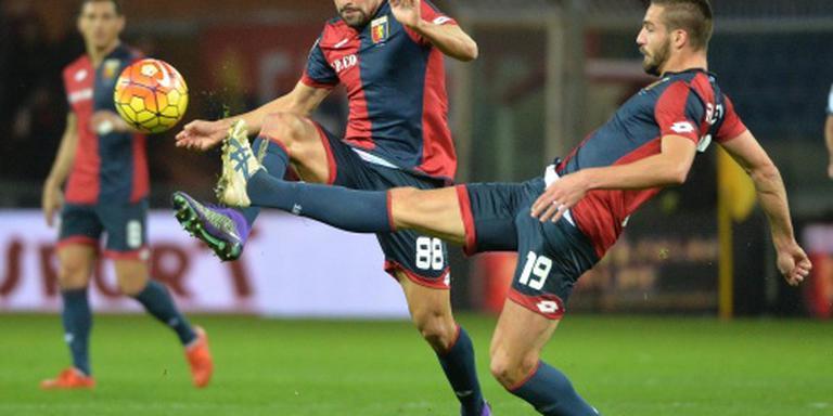 Lazio speelt gelijk tegen Genoa