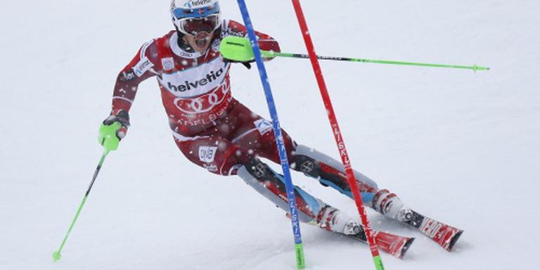 Kristoffersen al weer de beste op slalom