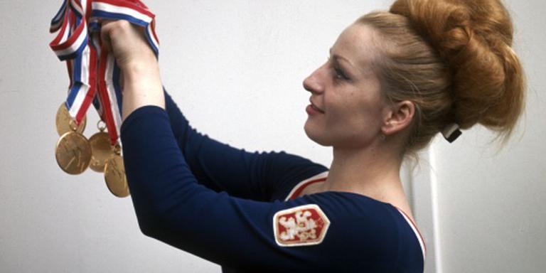 Tsjechische turnheldin Caslavska overleden