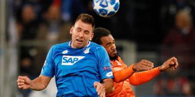Hoffenheim redt in slotfase punt tegen Lyon