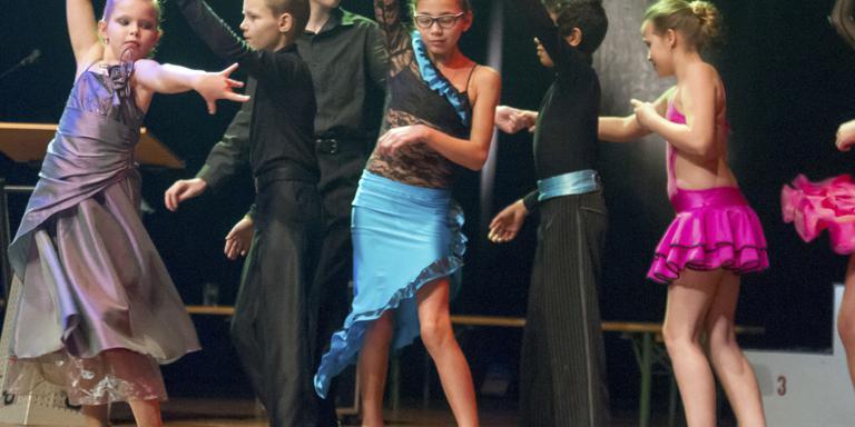 Stijlvolle afsluiting stijldansen in Hoogeveen