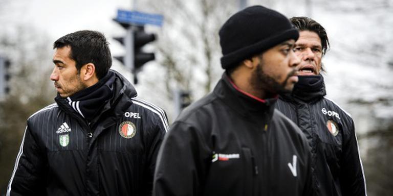 Feyenoord met vijf verdedigers in Kerkrade