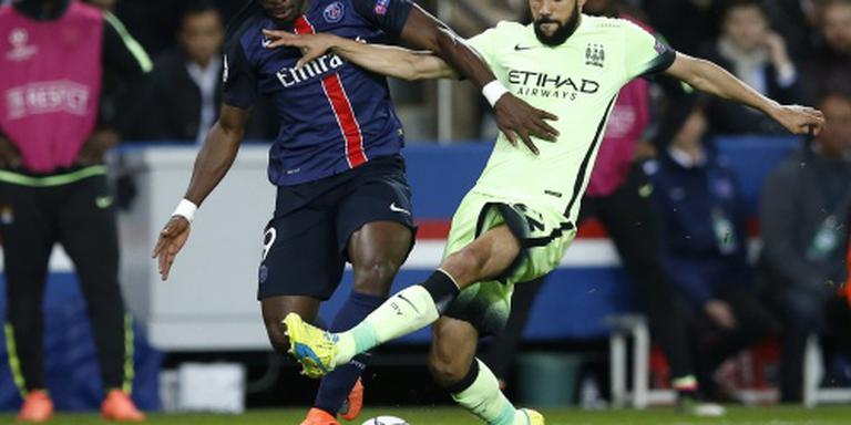 Manchester City kansrijk na 2-2 in Parijs