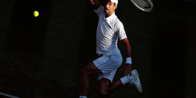 Djokovic eenvoudig naar tweede ronde