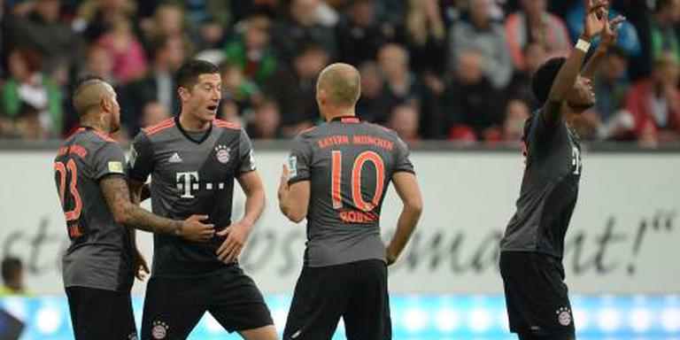 Doelpunt en twee assists Robben bij Bayern