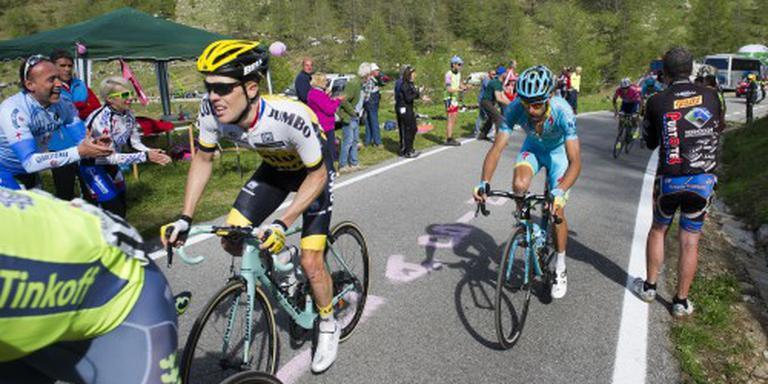 Kruijswijk leert van Giro ondanks tegenslag