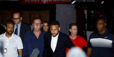Rechter seponeert zaak tegen voetballer Neymar