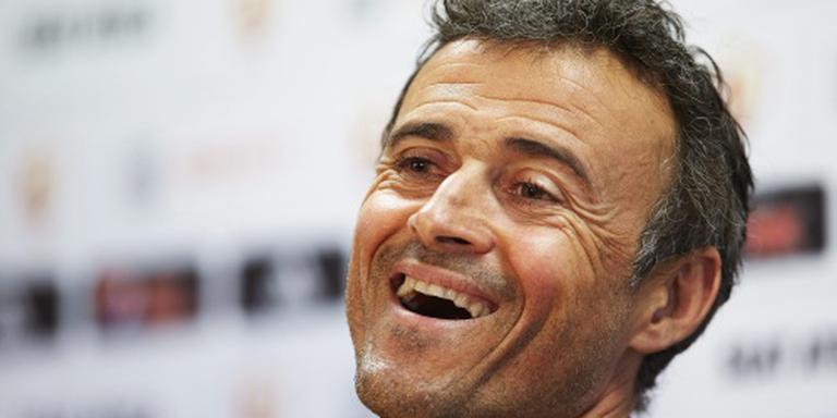 Luis Enrique: fantastisch seizoen Barcelona