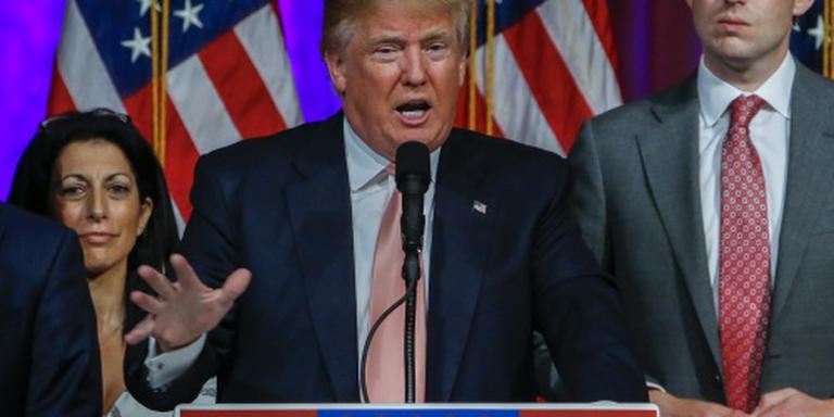 Manager Trump vast voor geweldpleging