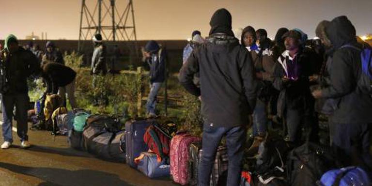 'Ruim 2000 mensen verlaten Jungle Calais'