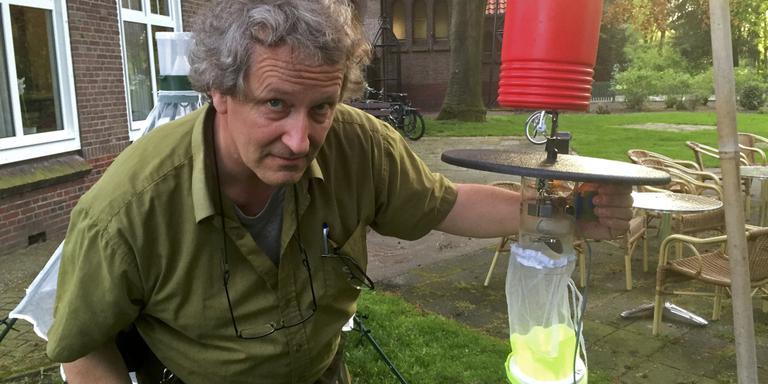 Onderzoeker Arjen Strijkstra. Foto: DvhN