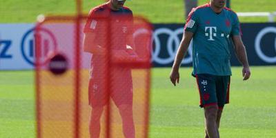 Bayern mist Boateng en Robben in Liverpool