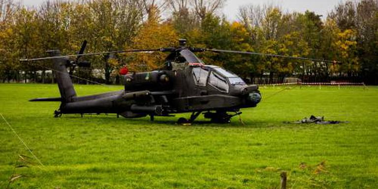 Gebotste Apache terug op basis Gilze-Rijen