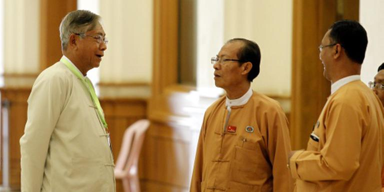 Htin Kyaw nieuwe president Myanmar