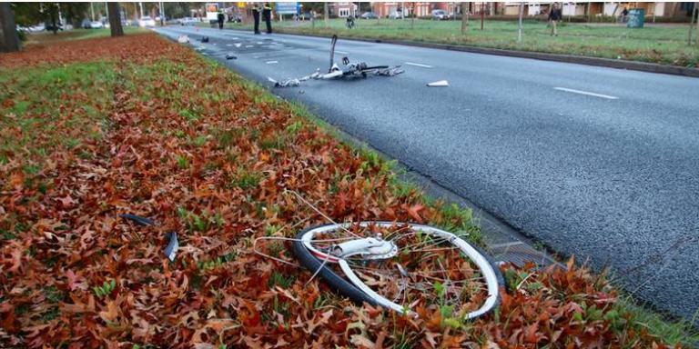 Politie vindt chauffeur die doorreed na ongeval Heerenveen in Overijssel.