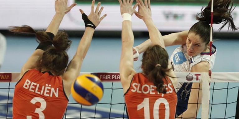 Volleybalsters verslaan Zwitserland