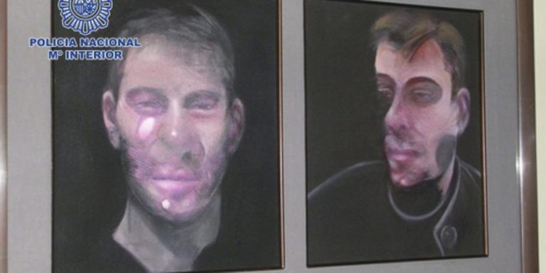 Zeven arrestaties om roof schilderijen Bacon