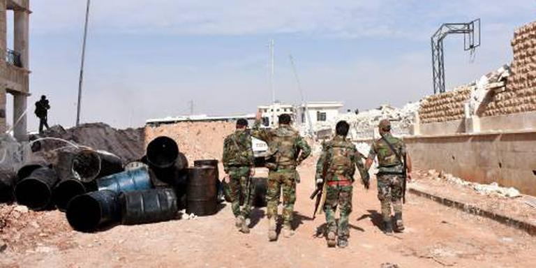 'Leger verovert deel rebellengebied Aleppo'