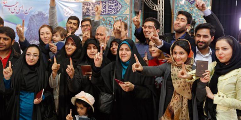 Opkomst verkiezingen Iran valt tegen