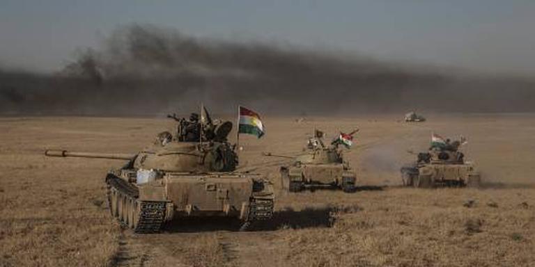 'Terreinwinst coalitie bij aanval op Mosul'