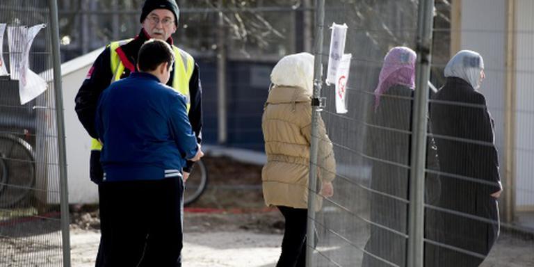 Instroom asielzoekers blijft 500 per week