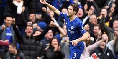 Chelsea vaster op vierde plaats na zege op Spurs