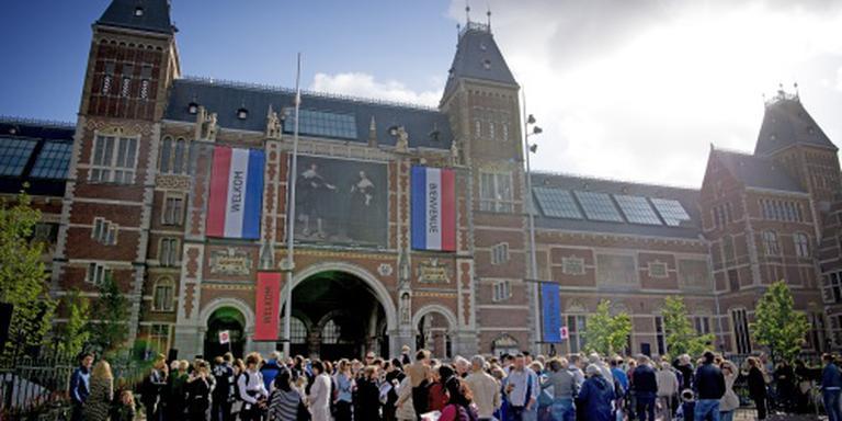 Koninklijke jachthoorn naar Rijksmuseum