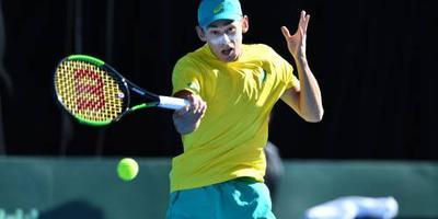 De Minaur naar tennistoernooi Rosmalen
