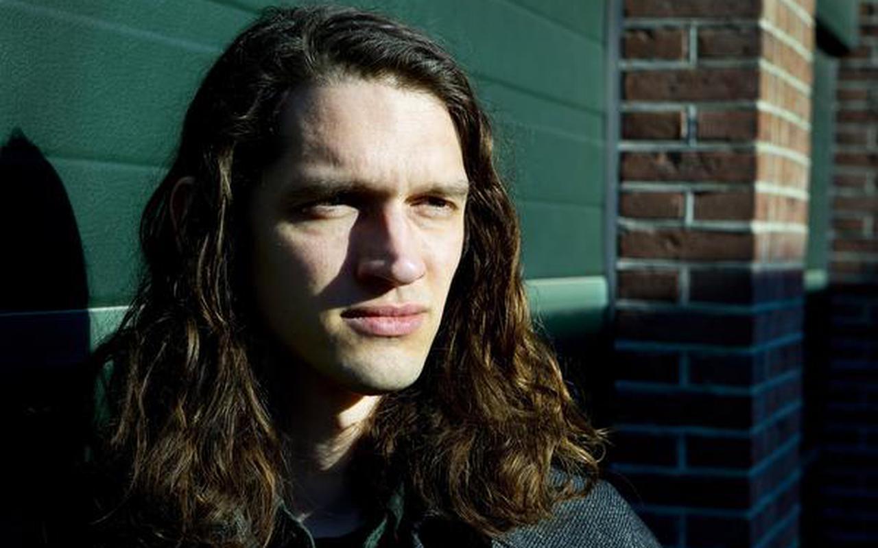 Utrecht Portret van Thijs Kuijken, leadzanger van de Nederlandse band I Am Oak.