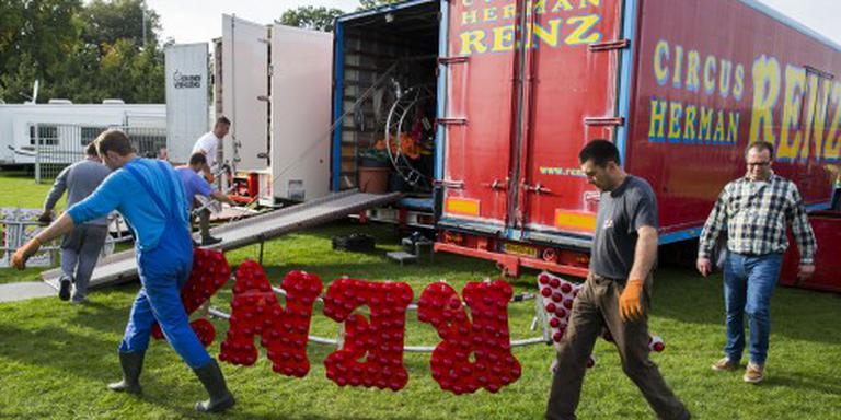 Veel belangstelling voor inboedel circus Renz