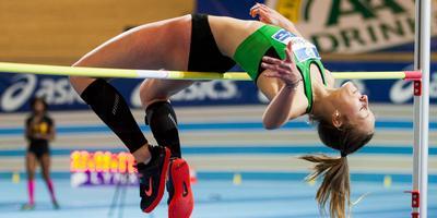 Sarah van Beilen. Foto: Coen Schilderman / Atletiekunie