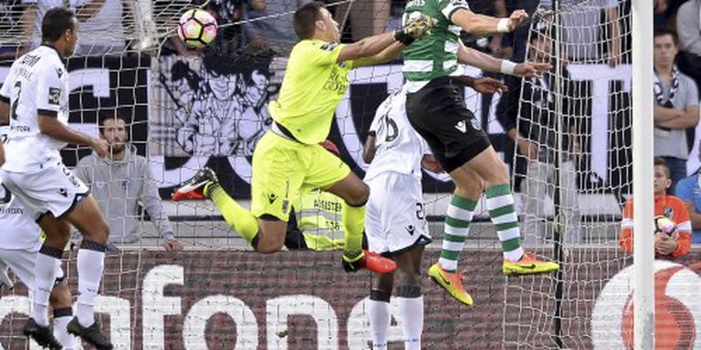 Sporting geeft voorsprong van 3-0 weg