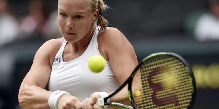 Bertens uitgeschakeld op Wimbledon