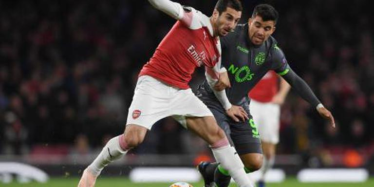 Arsenal heeft genoeg aan gelijkspel