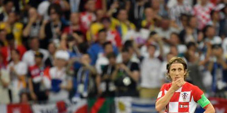 Modric is trots op Kroatië