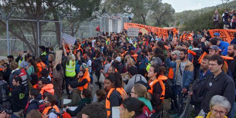 Eerste extra grensbewakers naar Lesbos
