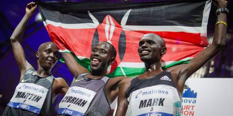 Korir wint marathon van Frankfurt