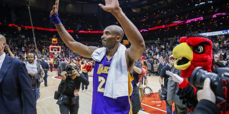 Lakers winnen dankzij productieve Bryant