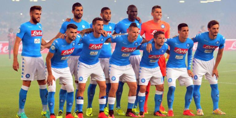 Milik succesvol voor Napoli