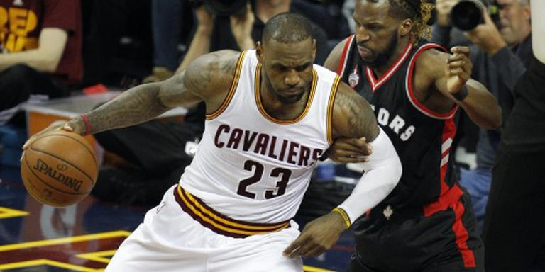 Cavaliers verslinden Raptors