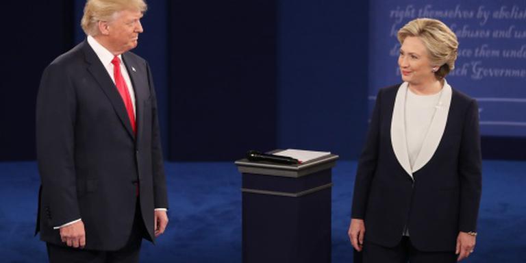 CNN: Clinton wint, Trump beter dan verwacht
