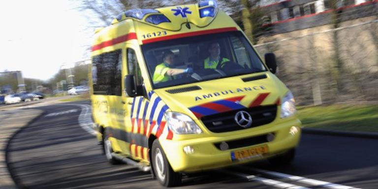 N33 tussen Siddeburen en Appingedam even dicht na ongeluk.