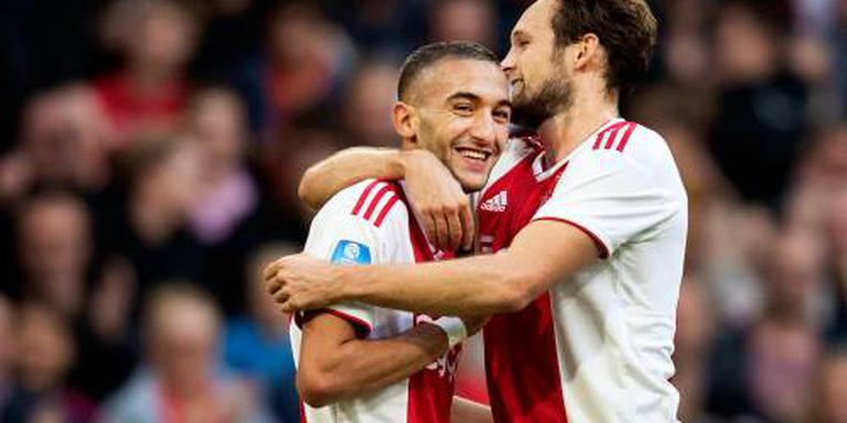 Ajax rekent weer op Ziyech