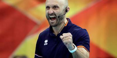 Bondscoach Morrison trots op volleybalsters