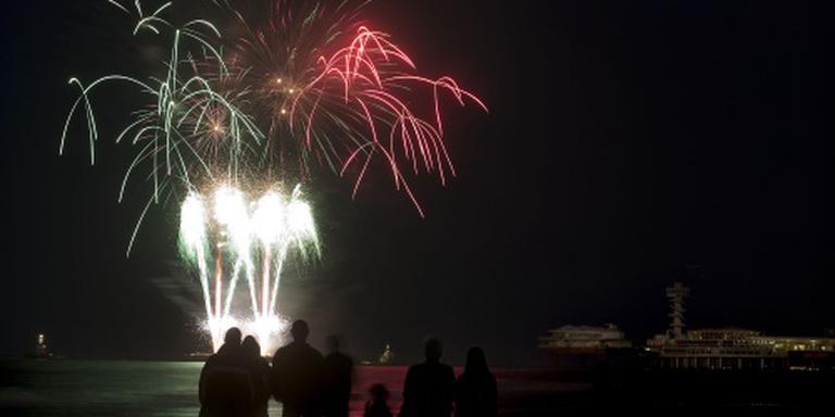 Spanje winnaar vuurwerkfestival Scheveningen
