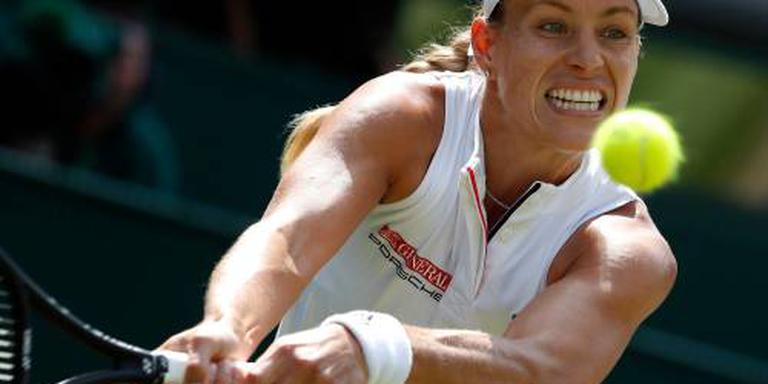 Kerber voor tweede keer in finale Wimbledon