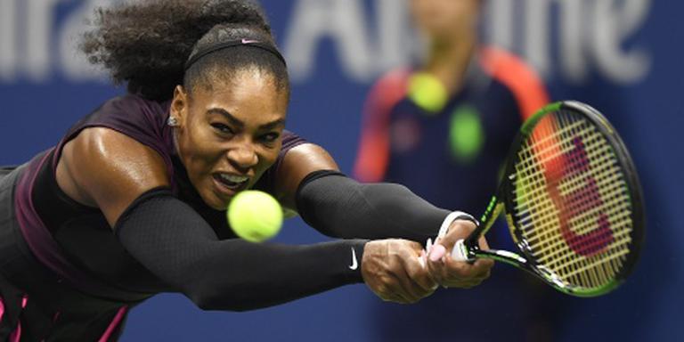 Schouderblessure hindert Serena Williams