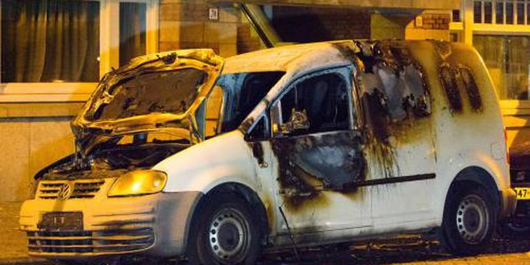 'Uitgebrande auto gebruikt bij schietpartij'