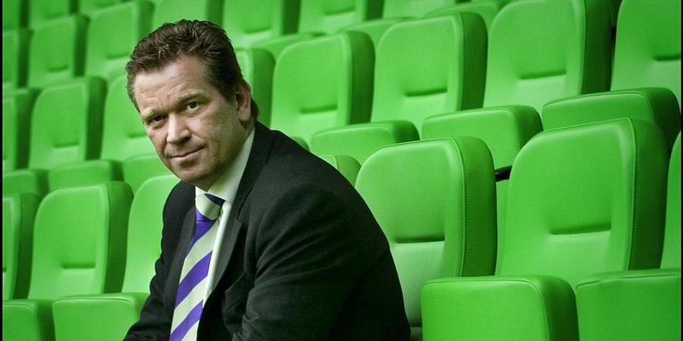 FC Groningen-voorzitter Hans Nijland. FOTO ARCHIEF DVHN