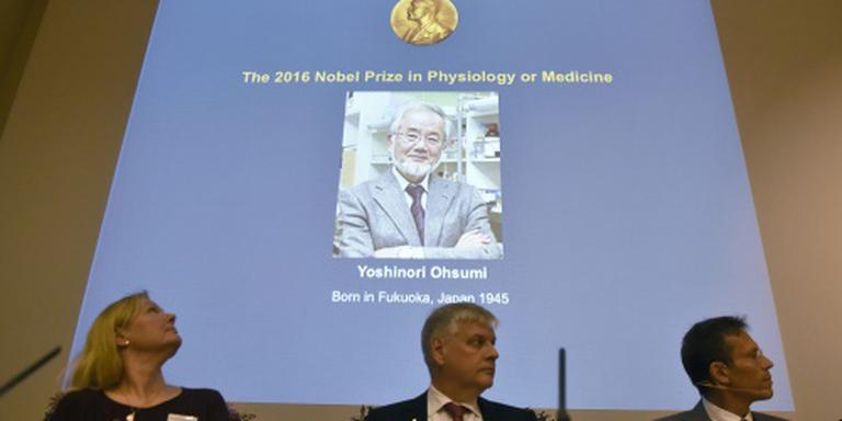 Medische Nobelprijs naar Japanner Ohsumi